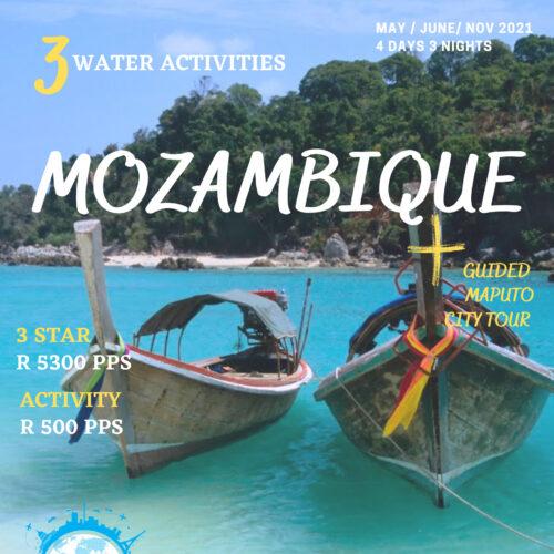Bilene Mozambique, Maputo Tour